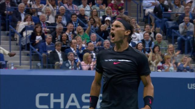 'How on earth did he reach that?' - Nadal wins stunning point