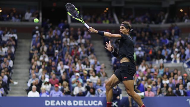 US Open 2017: El paralelo de Nadal marca registrada