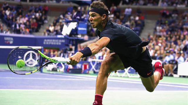Nadal - Anderson, l'immense face au géant