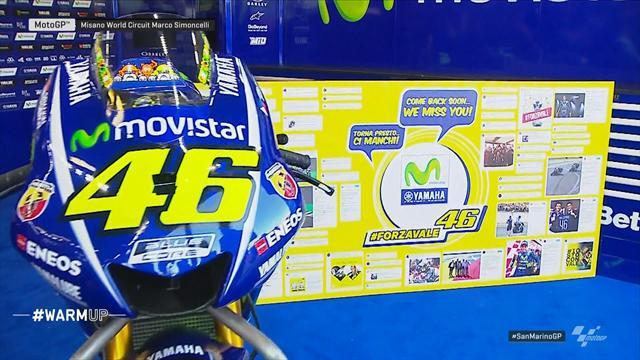 """Rossi: """"Mi dispiace non esserci, ma la gamba va sempre meglio"""""""