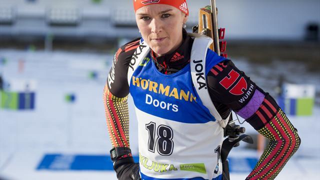 Biathlon-DM: Dahlmeier Dritte - Titel für Herrmann und Doll