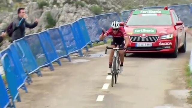 La Vuelta 2017: El último disparo de Alberto Contador en L'Angliru
