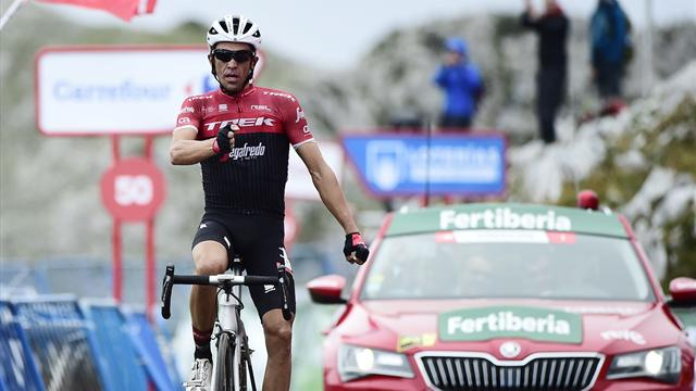 L'arrivée de la 20e étape : El Pistolero Contador a dégainé une dernière fois