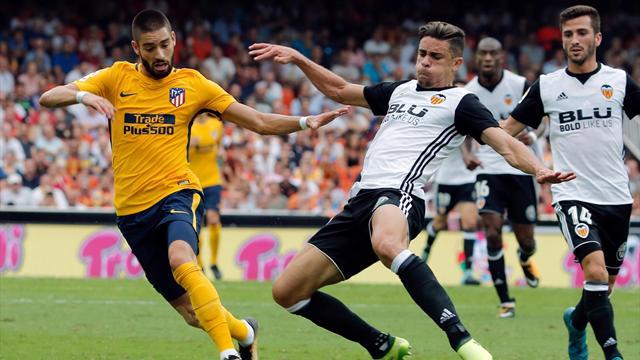 El Valencia madura, el Atlético echa de menos a Griezmann