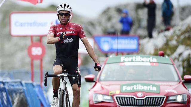 Велогонщик Контадор одержал победу 20-й этап «Вуэльты», Закарин— третий вобщем зачете