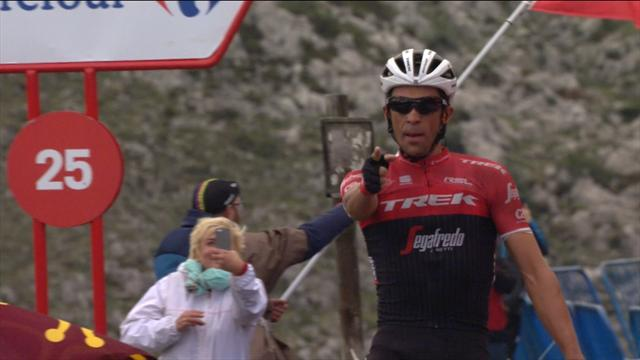 Stage 20 finish: Contador storms home on L'Angliru, with Froome in pursuit