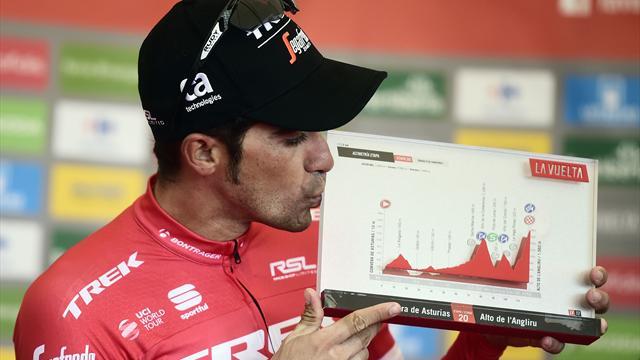 La Vuelta 2017: La épica victoria de Contador protagoniza los grandes momentos en el L'Angliru
