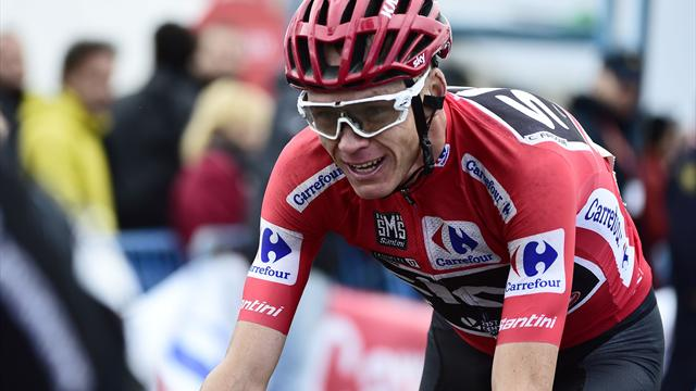 Froome savours sweet treats as Vuelta finale approaches