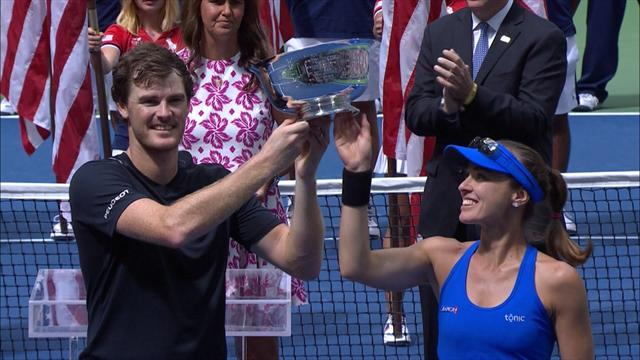 US Open 2017 highlights: Murray and Hingis win mixed doubles title