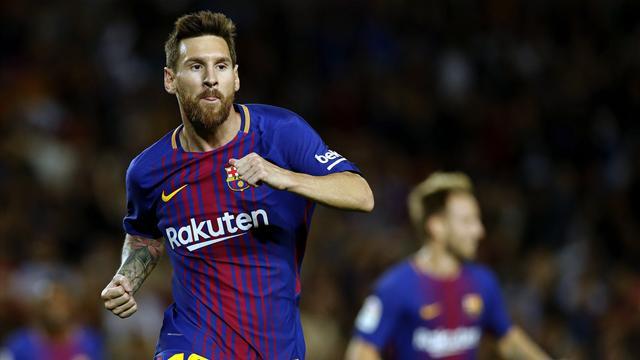 Barcelona'yı Messi taşıdı