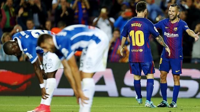 El Barça, insuperable en los derbis desde hace ocho años