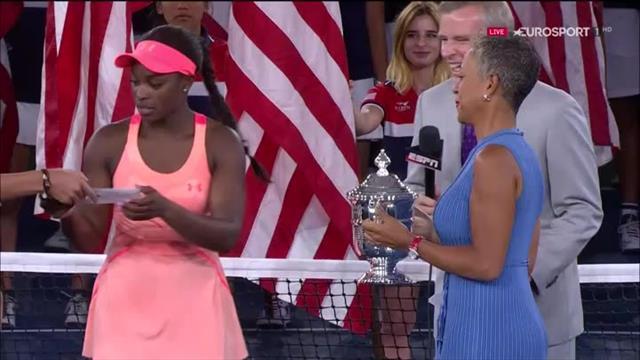 Siegerehrung: Stephens ist die Königin von New York