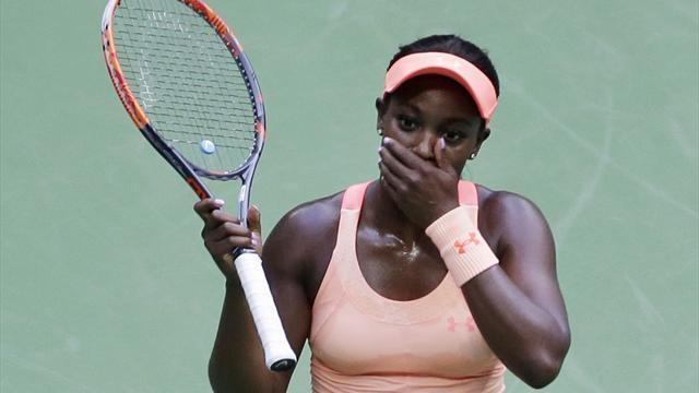 Stephens brukte bare litt over én time på å vinne US Open-finalen