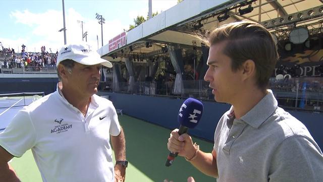 """US Open 2017, Toni Nadal: """"Espero un partido muy difícil ante Anderson"""""""