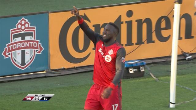 Toronto Fc-San Jose Earthquakes 4-0, gli highlights