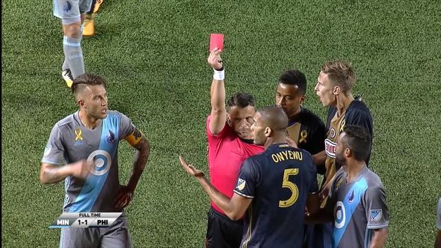 MLS-Highlights: Platzverweis gegen Philadelphia-Spieler zurückgenommen