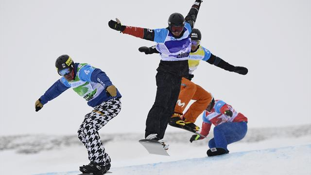 Deutsche Snowboardcrosser fahren beim Weltcup-Auftakt hinterher