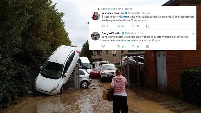AiutiamoLI: da Chiellini a Pavoletti, gli sportivi a sostegno di Livorno