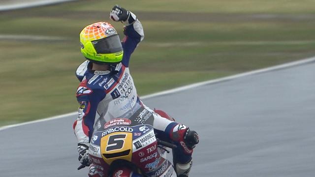 Moto3: Öttl in Misano auf Platz vier, Fenati gewinnt