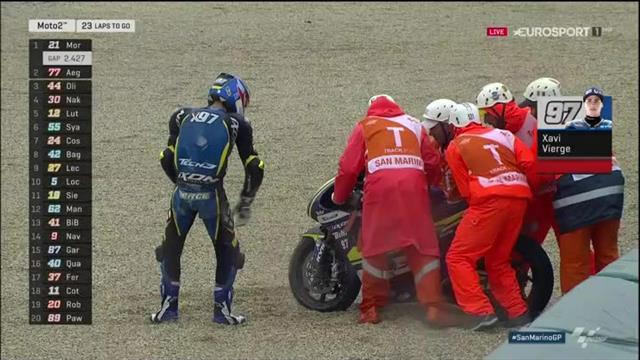 Moto2: WM-Spitzenreiter Morbidelli fliegt raus