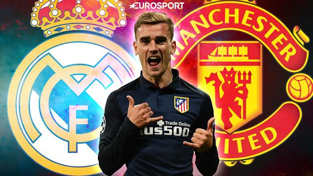 Euro Papers: United and Real dealt blow in Griezmann chase