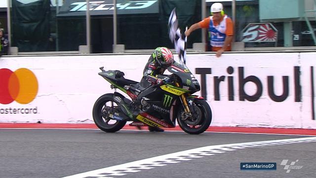 En panne sèche, Zarco a arraché un point... en poussant sa moto jusqu'à la ligne