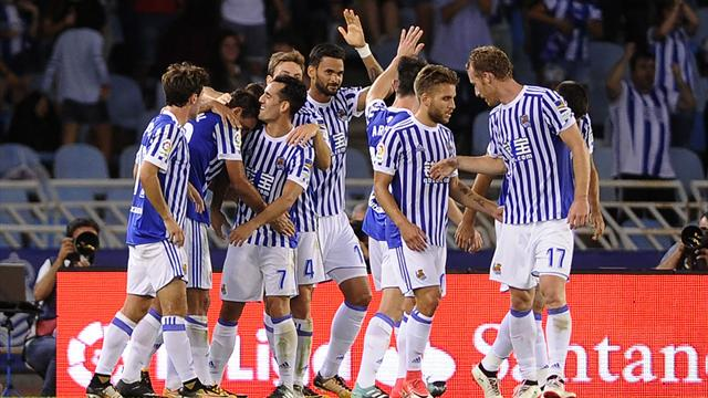 Real Sociedad i scoringsform før RBK-møte