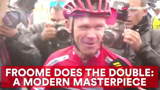 Chris Froome does the double: a modern masterpiece