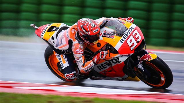 MotoGP, San Marino: Espectacular triunfo de Márquez que recupera el liderato y jornada accidentada