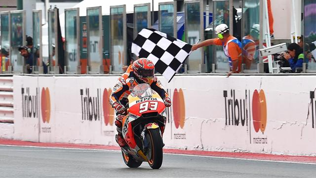 Marquez risked move to take five extra points