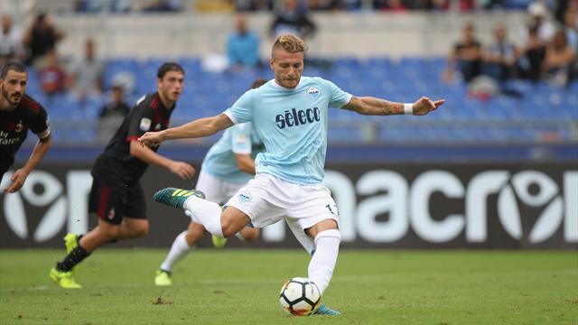 Onze minutes et la Lazio a fait voler le Milan en éclats