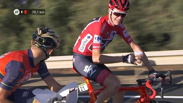 After beer and cava, Froome nails a coffee on road to Madrid