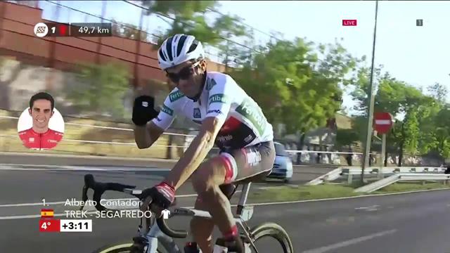 Alberto Contador saluta Madrid per l'ultima volta