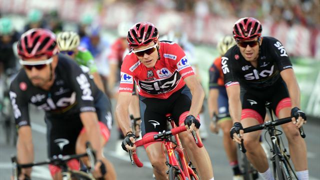 Froome tient enfin sa Vuelta et réussit un formidable doublé