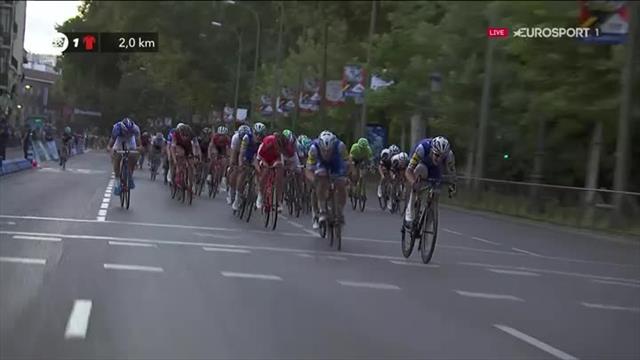 L'arrivée de la 21e étape : Trentin s'offre la der et Froome le maillot... vert !