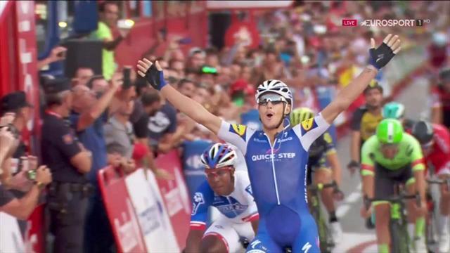La Vuelta 2017 (21ª etapa): Trentin certifica al esprint su cuarta victoria