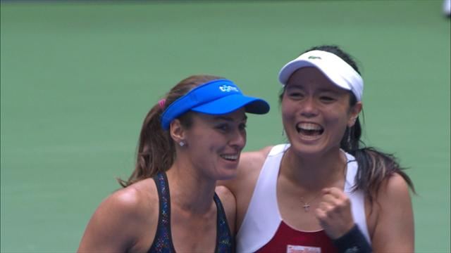 Doubles delight as Hingis wins second title in 24 hours