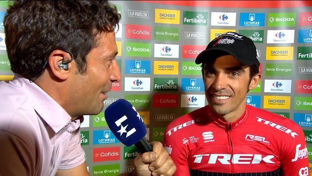 """Alberto Contador, a Eurosport: """"Todo ha sido increíble y mi sueño era despedirme así"""""""