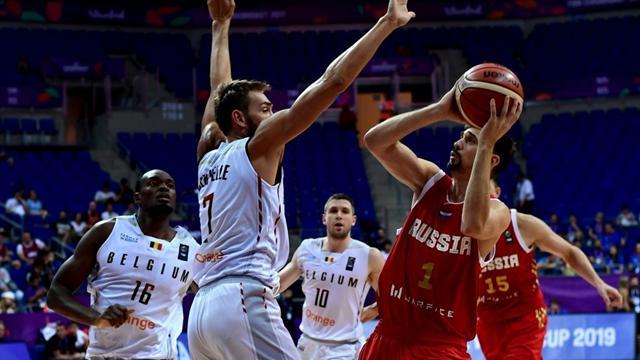 Россия вышла в четвертьфинал, разгромив Хорватию