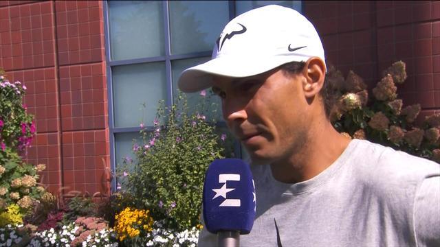 """US Open 2017, Nadal: """"Tengo que jugar muy concentrado con el servicio"""""""