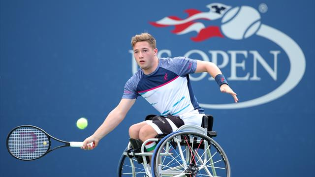 Disappointment for Britain's Hewett in wheelchair singles final