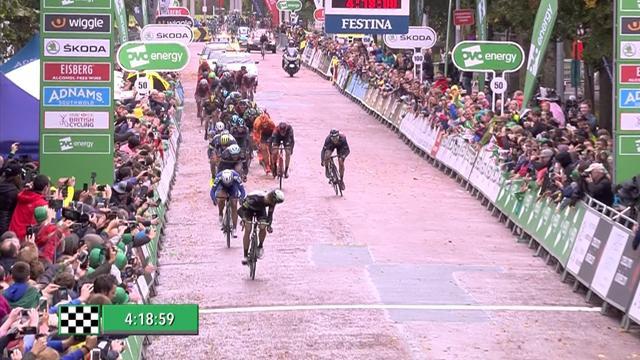 Boasson Hagen wins Tour of Britain finale, Boom takes GC win