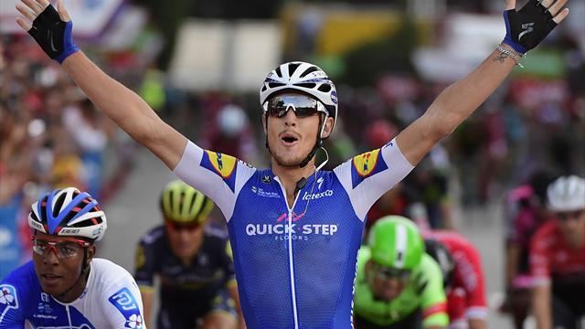 La Vuelta 2017 (21ª etapa): De la despedida de Contador a la cuarta victoria de Trentin