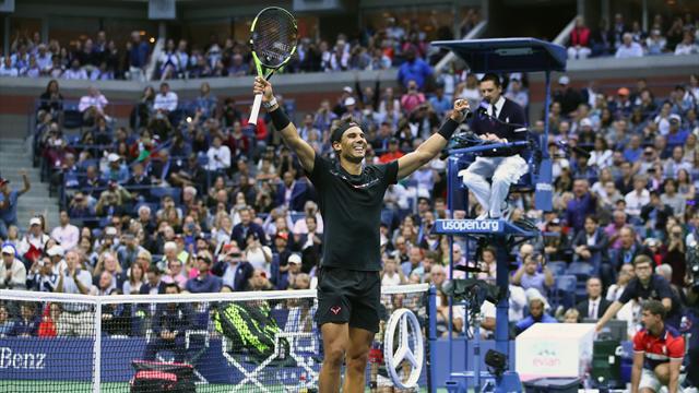 Nadal tient son rang, Anderson tient sa finale