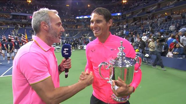 """US Open 2017, Rafa Nadal: """"En los últimos tres juegos estaba muy nervioso"""""""