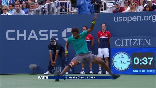 Watts US Open: ma quanti soldi buttati quanto i tennisti spaccano le racchette!!!