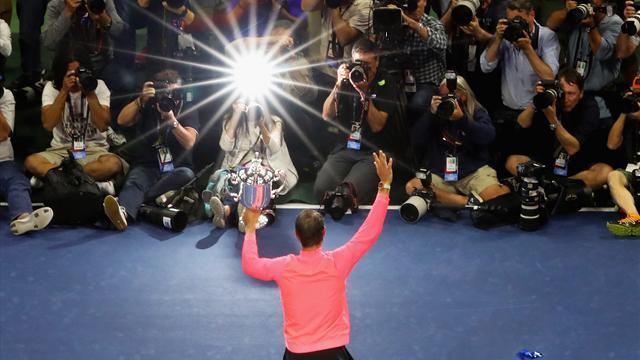Los 16 Grand Slams de un Rafa Nadal eterno