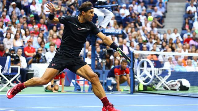 US Open - Top-5-Punkte des Finales: Nadals Monster-Attacke am Netz