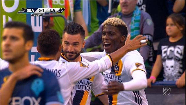 Seattle Sounders-Los Angeles Galaxy 1-1, gli highlights