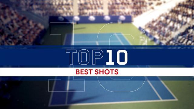ABD Açık: Erkekler ana tablo maçlarından en güzel 10 puan